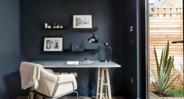 Pracovna v bytě